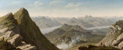 View of Ben Lomond by John Knox (1778-1845).