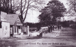 Postcard - Loch Lomond Tea Rooms and Balloch Bridge