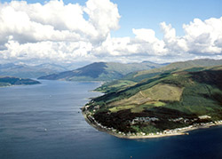 Loch Long and the Rosneath Peninsula