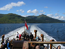 The Paddle Steamer Waverley, Loch Goil