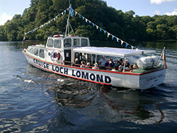 Cruise Loch Lomond offer a varied programme.