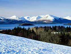 The Luss Hills across Loch Lomond