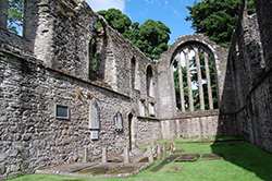 Inchmahome Priory, on the Lake of Menteith