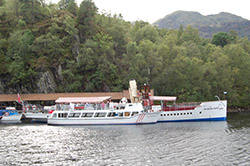 Loch Katrine is a favourite place for Trossachs cruising
